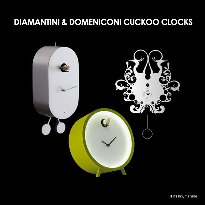 Read more about the article You'll Go Cuckoo Over These Eight Modern Clocks from Italy's Diamantini and Domeniconi.
