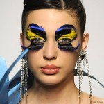 Alien Boob Dress & Eyelashes Galore in Gianni Molaro's Art Couture Collection Runway Show.