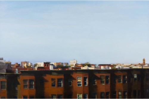 Read more about the article Artist Kim Cogan Captures The Quiet Side Of City Life With A Paintbrush.