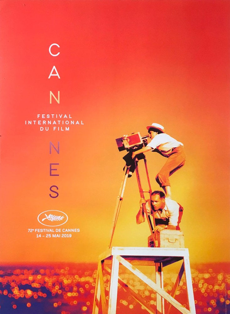 official Cannes Film Festival poster 2019