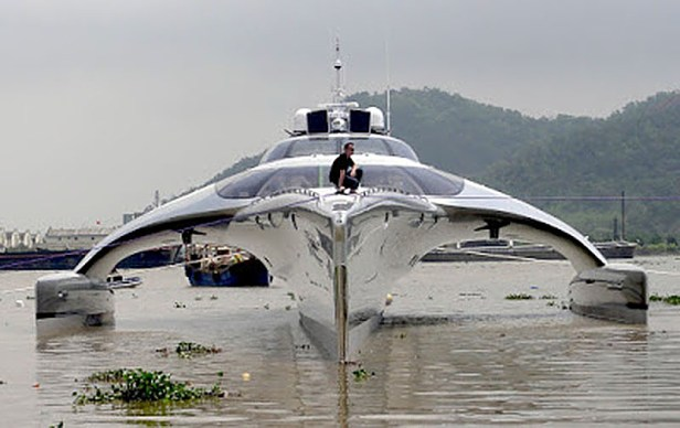 Adastra Trimaran Superyacht
