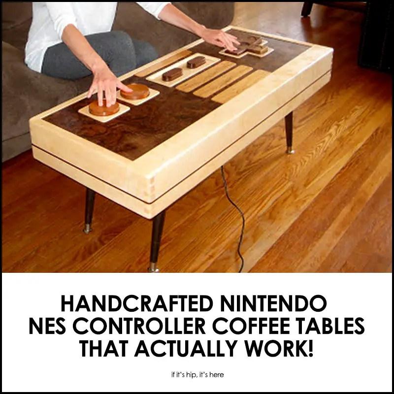 Nintendo NES Controller Coffee Tables