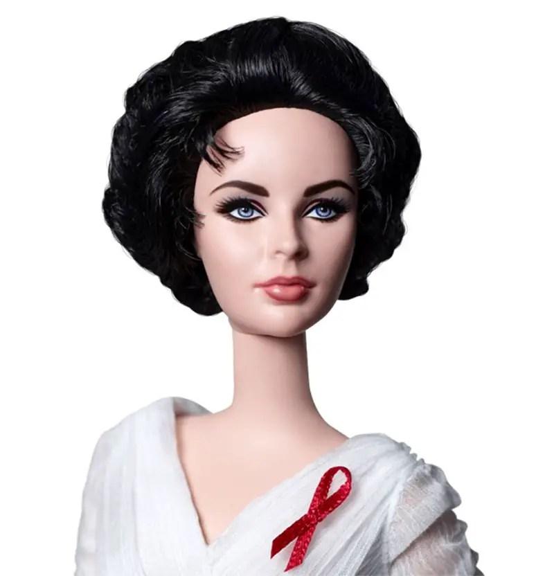Elizabeth taylor barbie 2