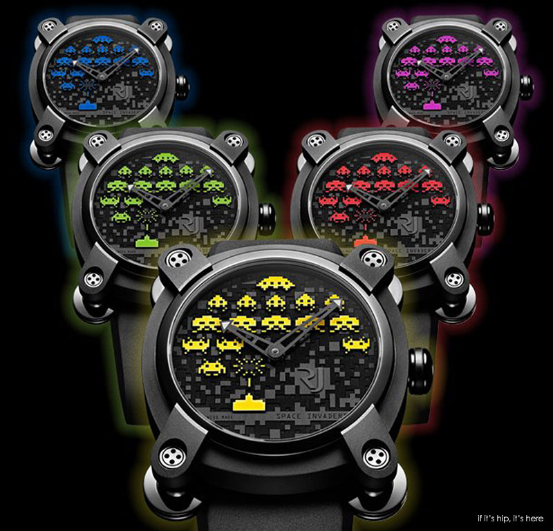 space invader watches