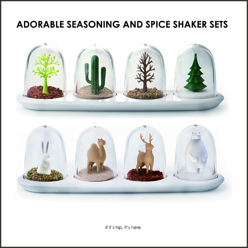seasoning and spice shaker sets