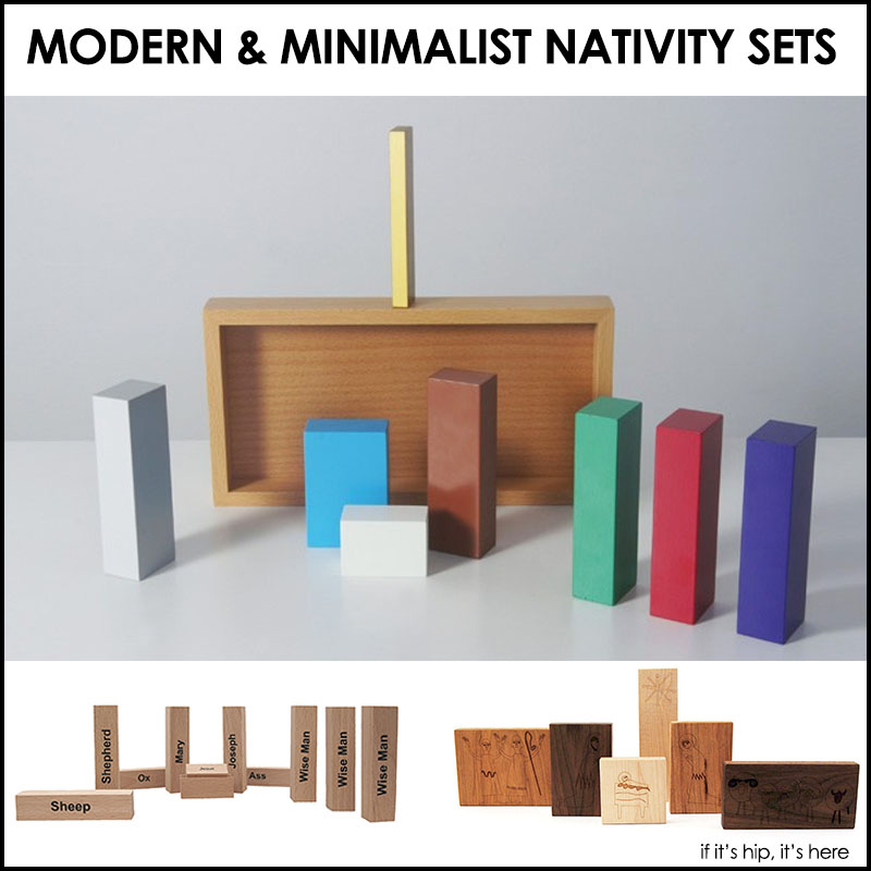 The Three Most Modern Nativity Sets Youve Ever Seen If
