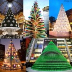 From Pac Man To Porcelain, Five of The Most Spectacular and Unusual Christmas Trees From All Over The World.