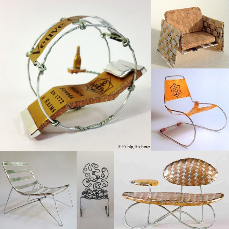 DWR Champagne Cork Chair Contest