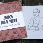Like John Hamm? Like Puns? Look No Further, Here's the Punny Jon Hamm Coloring Book.
