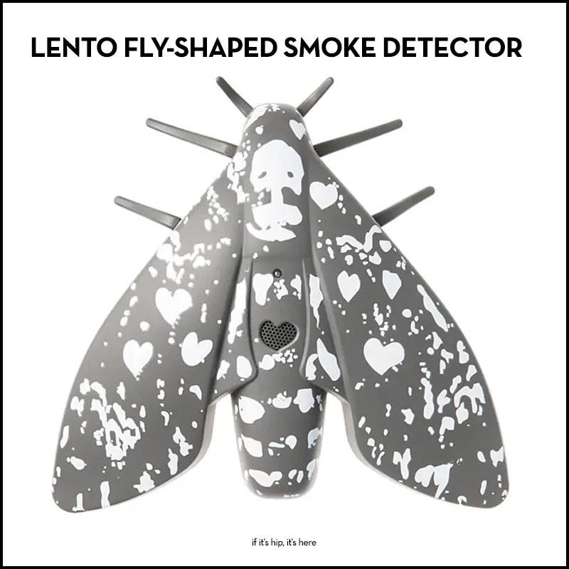 lento fly-shaped smoke detector
