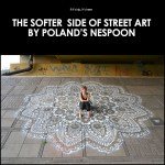 Urban Lace. The Softer Side of Street Art by Poland Artist NeSpoon.