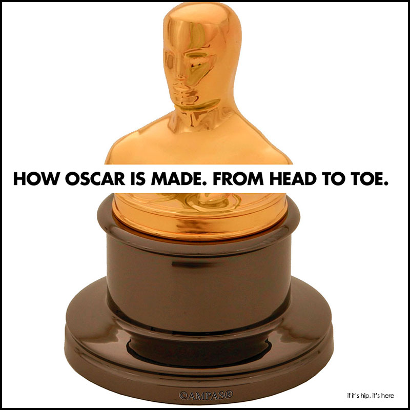 a look at how the oscar statuette is made u0026 fun academy awards facts