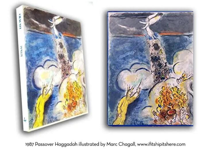 marc chagall illustrated haggadah