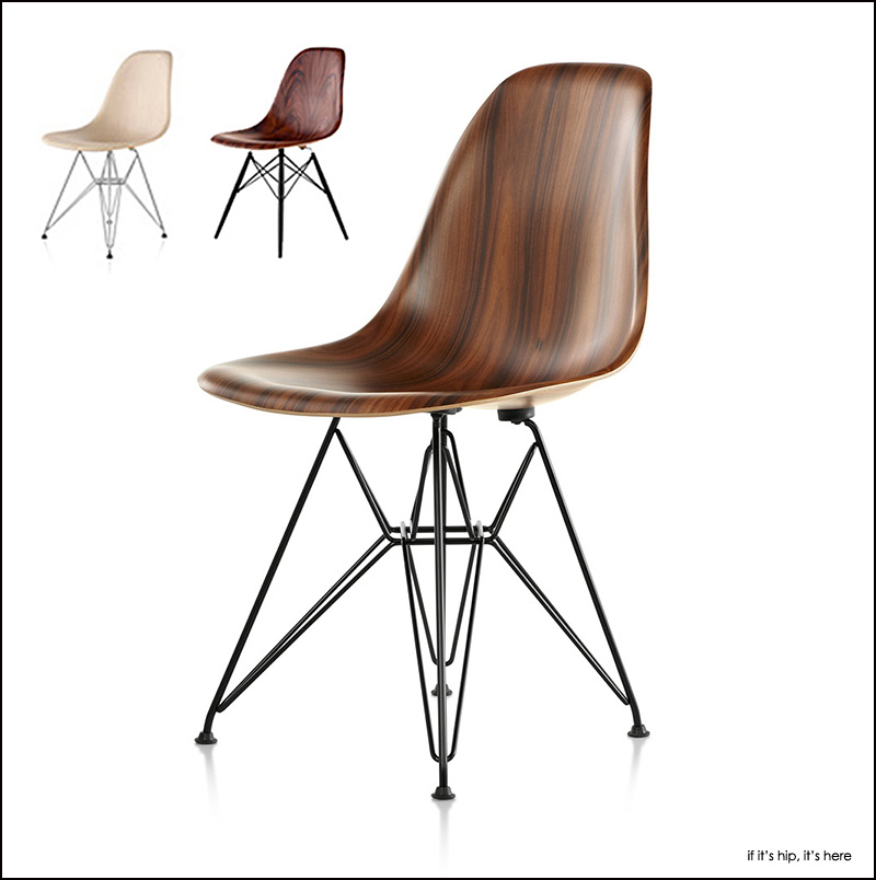 Molded Wood Eames Chair