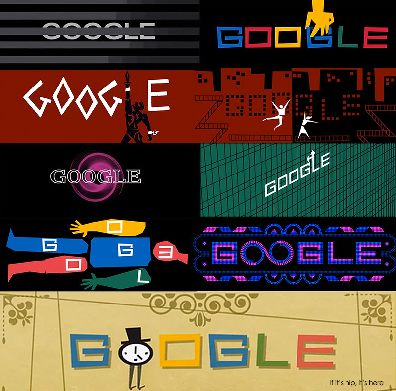 Saul Bass Google Doodle Tribute And All The Actual Title Sequences