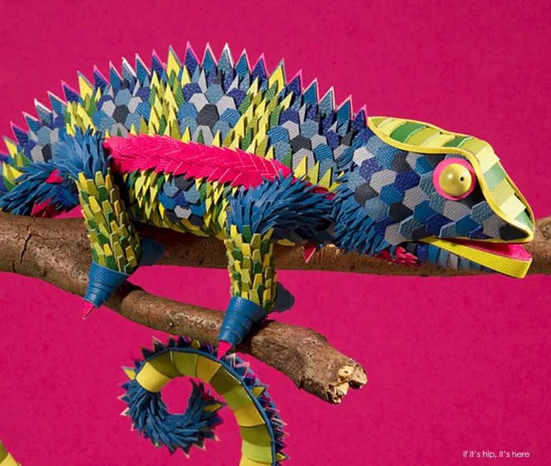 hermes leather iguana cu IIHIH