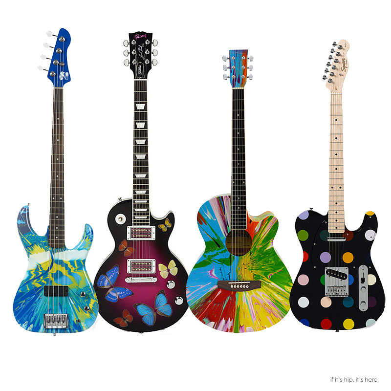 Damien Hirst Keeps Striking A Chord For Charity With His Custom ...