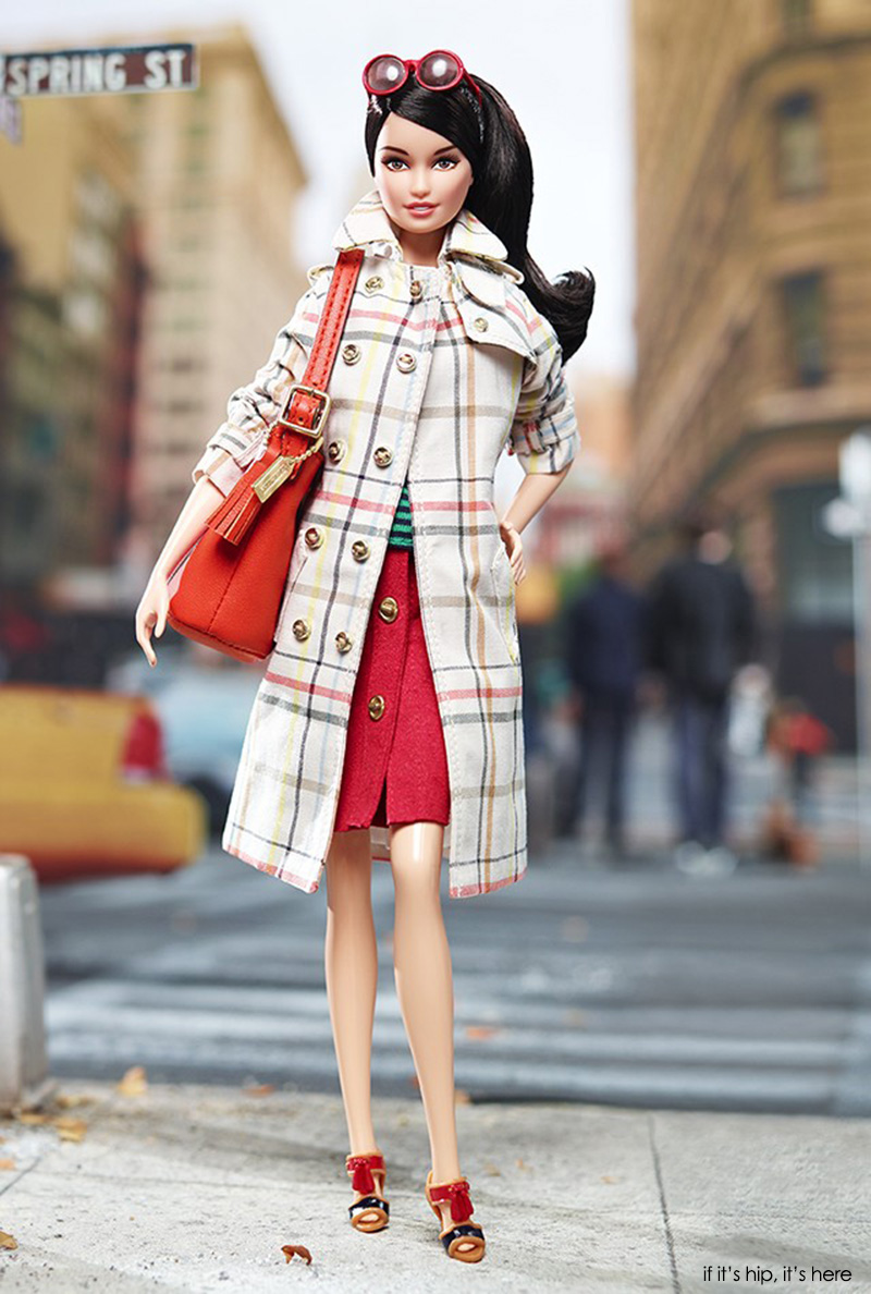 coach branded barbie