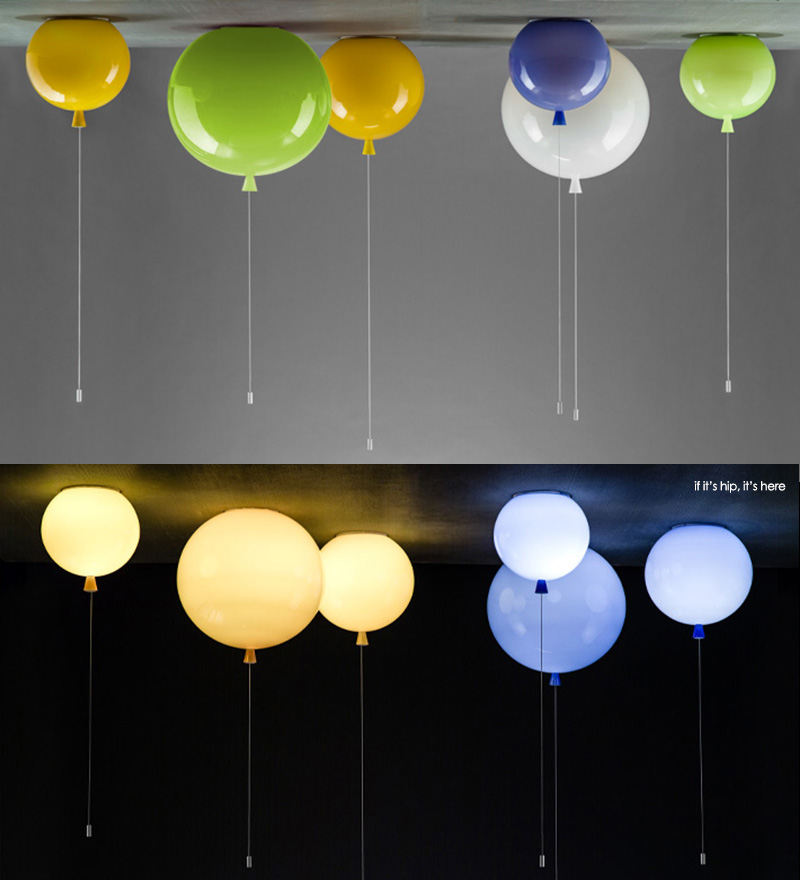 glass balloon lights