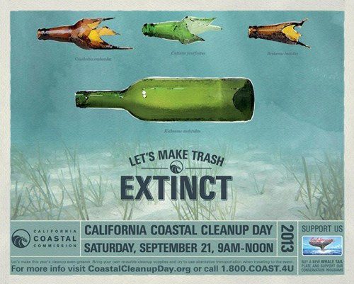 Read more about the article Beautiful Creative Encourages You To Beautify Our Beaches For California's Coastal Cleanup Day.