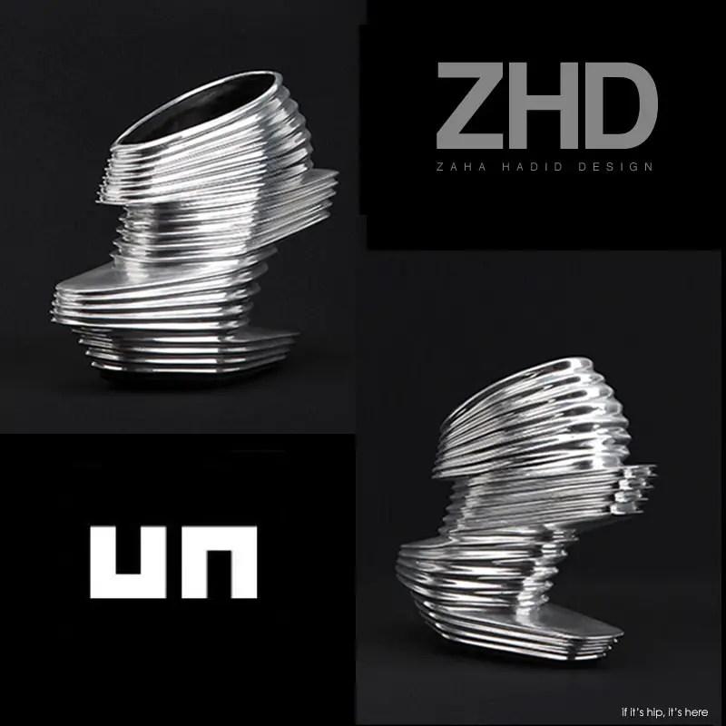 Zaha Hadid shoes for United Nude