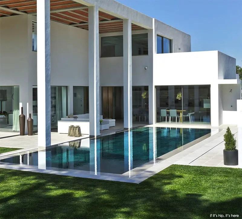San Lorenzo North show villa marble bottom pool 2 IIHIH