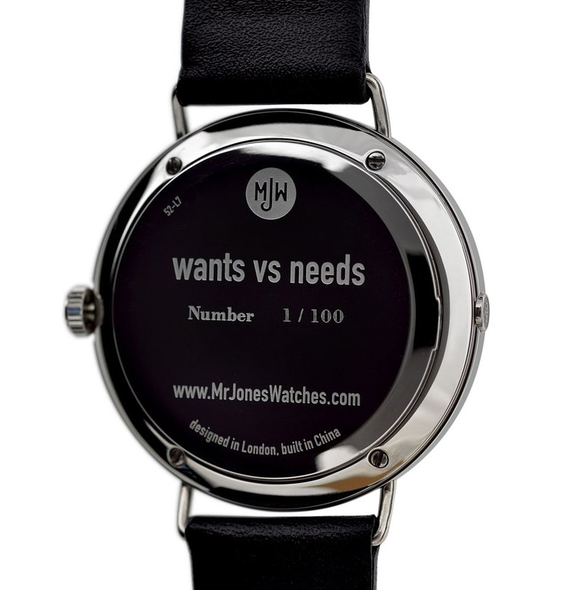 needs and wants venn diagram basic ford solenoid wiring limited edition vs watches from mr unisex watch box by artist camilla meijer the or mens comes in a mjw presentation with specially commissioned design