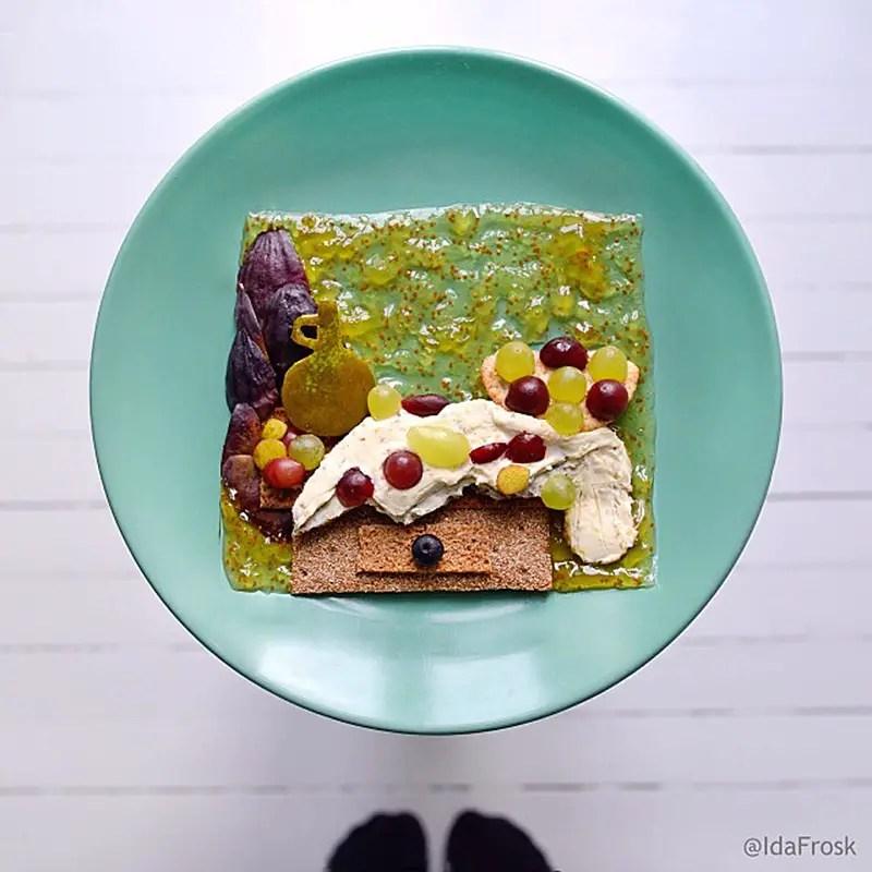 Cezanne's Table food Ida Frosk IIHIH