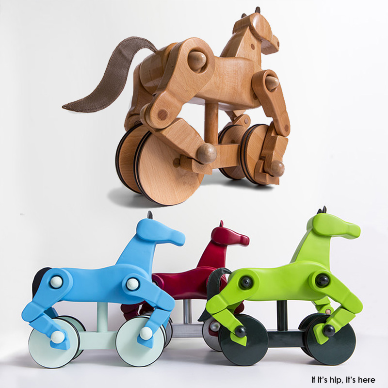 My Wooden Horse Toy