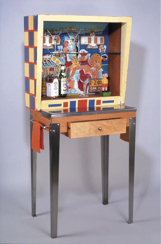 Re Purposed Vintage Pinball Machines
