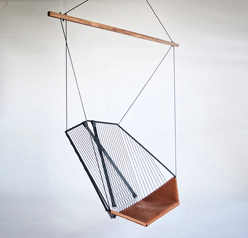 This Beautifully Constructed Suspended Chair, The Solo Cello, Was Designed  By Felix Guyon For Les Ateliers Guyon.