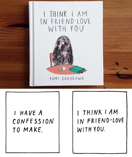 Read more about the article I Think I Am In Friend-Love With Yumi Sakugawa's New Book.