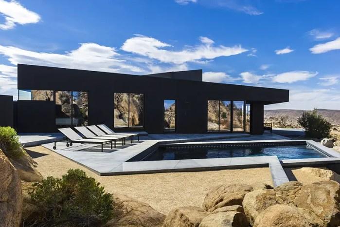 Marc Atlan Black Desert House