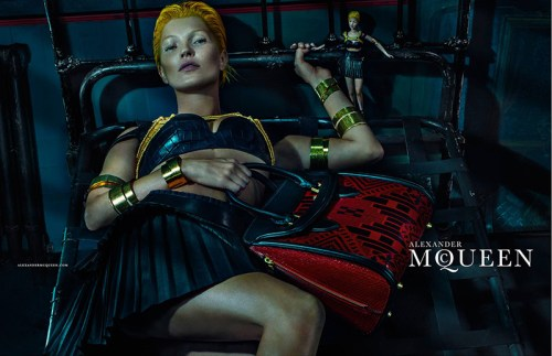 Read more about the article Kate Moss (and That Wacky Little VooDoo Doll) For Alexander McQueen by Steven Klein.