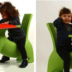 Chair With Desk Arm Foam For Chairs Australia Le Chien Savant Dog Shaped Children's By Philippe Starck