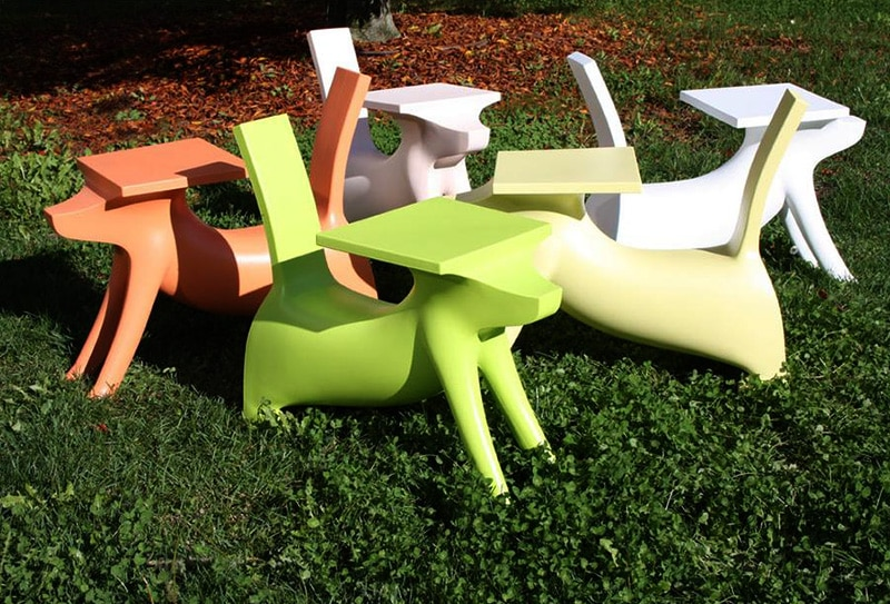 A DogShaped Childrens Desk Le Chien Savant by Philippe