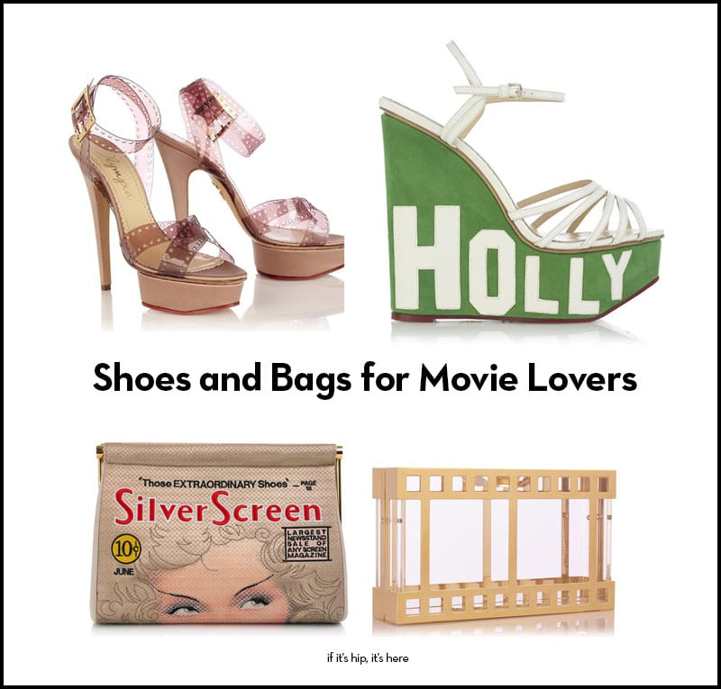 shoes and bags for movie lovers