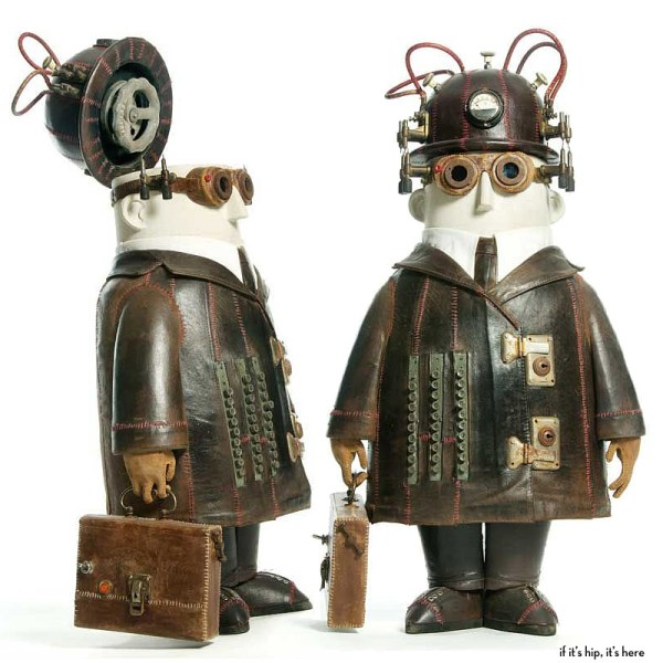 Whimsical Steampunk Sculptures Of Stephane Halleux