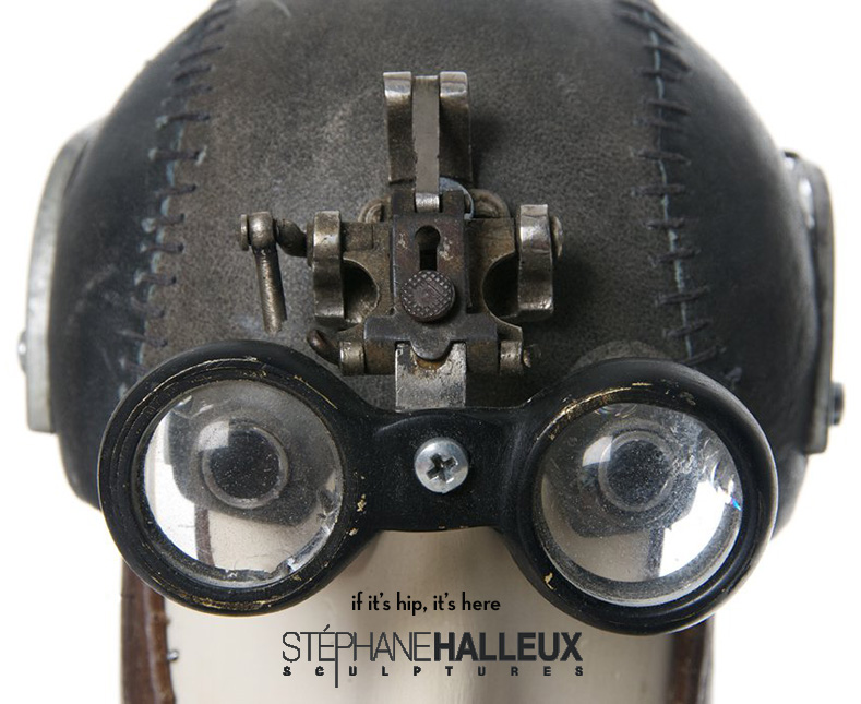 Steampunk Sculptures of Stephane Halleux