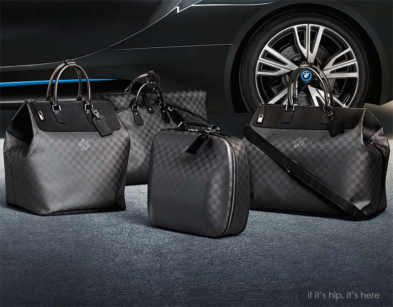 LV luggage for BMW i8