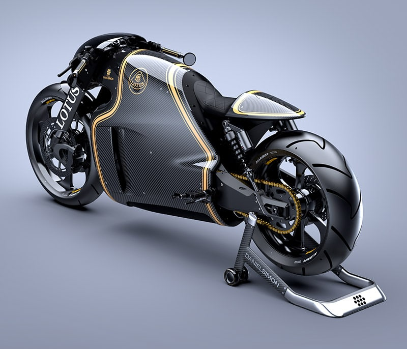 limited edition kodewa performance motorcycle the lotus c. Black Bedroom Furniture Sets. Home Design Ideas