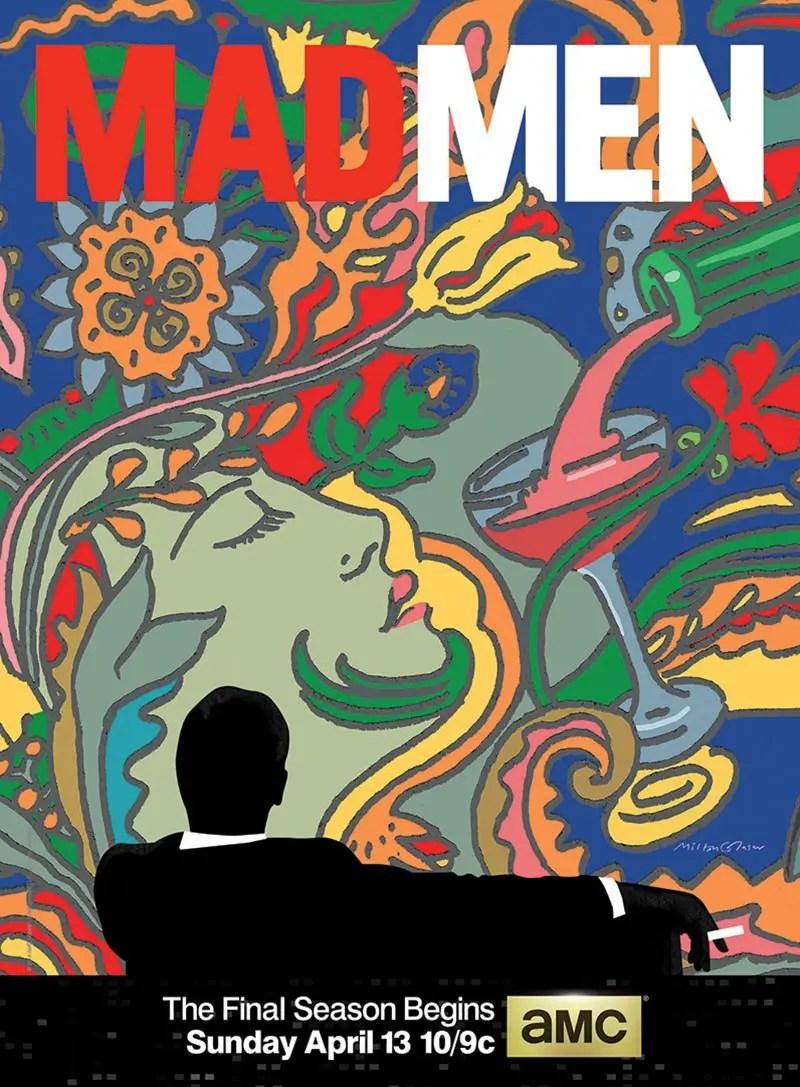 Milton Glaser promo poster for Mad Men season 7