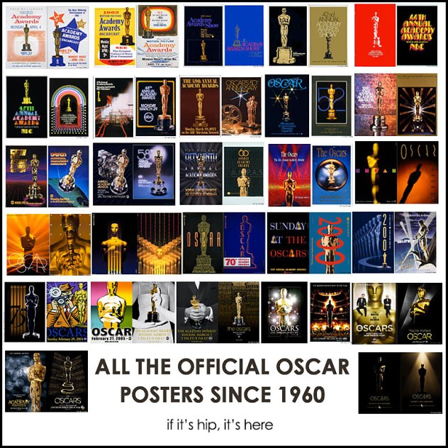 official oscar posters