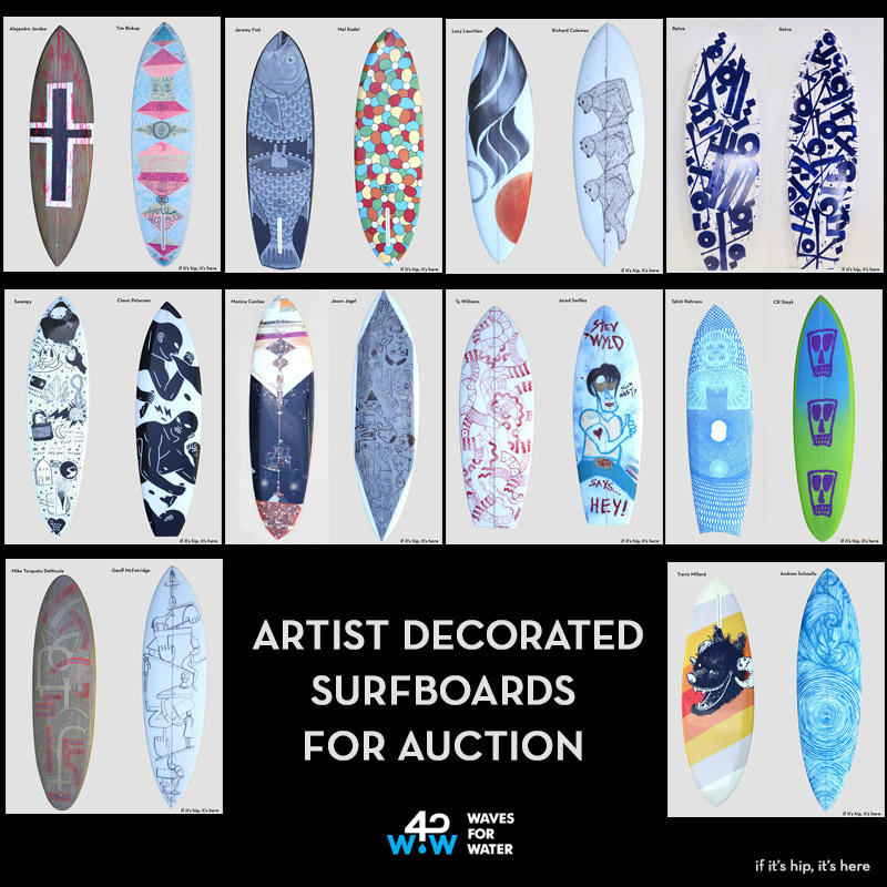 Surfboards for auction IIHIH