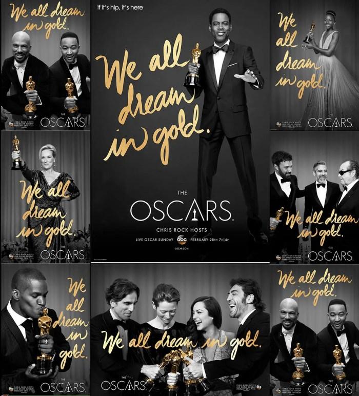 all the 2016 oscar posters IIHIH