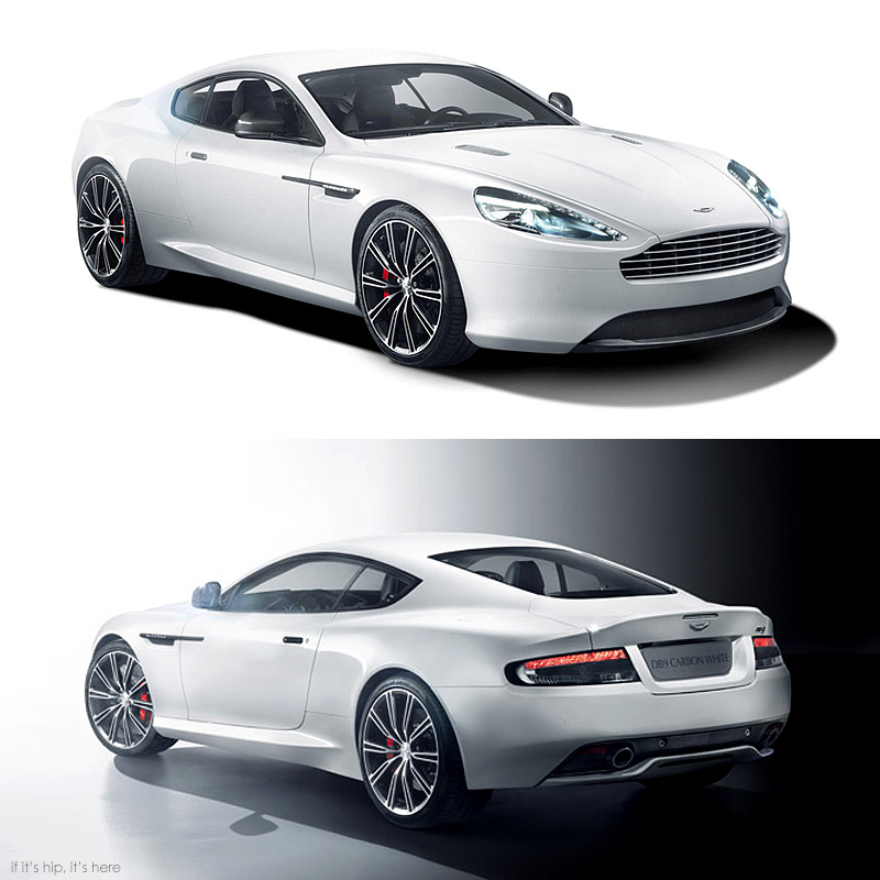 Aston Martin Unveils 2015 Black And White Carbon Editions
