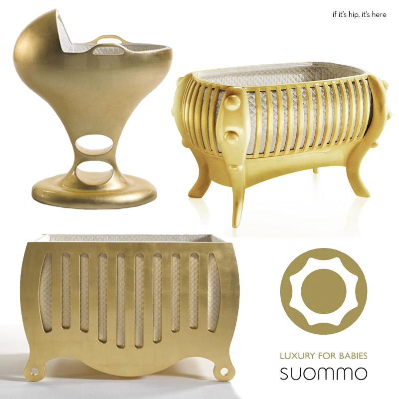 They Have Launched A Line They Call U201cArt Furnitureu201d Which Includes The Most  Outrageous Of The Bunch U2013 A $16,320,000.00 Bassinet Made Of SOLID 24k  Yellow ...