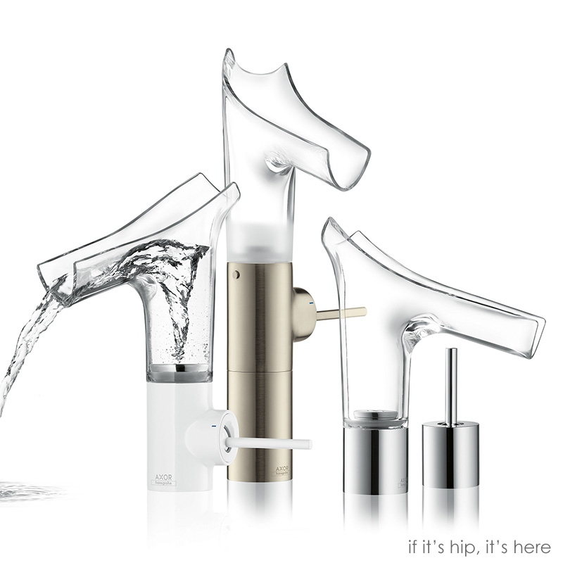 Wild New Transparent Glass Water Faucets From Hansgrohe - The Axor ...