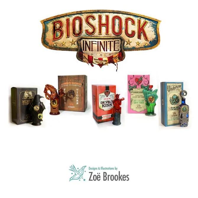 bioinfinite custom vigor bottles by zoe brookes IIHIH
