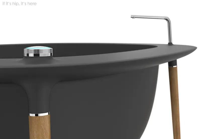 Corian Nomad Tub Dark Grey 3 IIHIH
